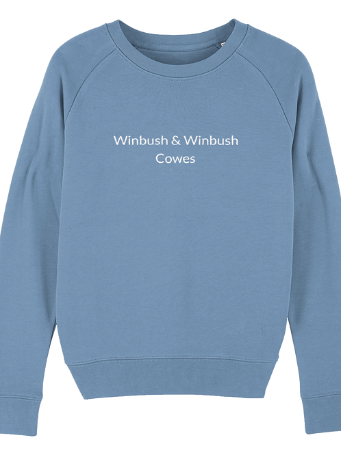 Cowes Tripster Sweatshirt Mid Heather Blue