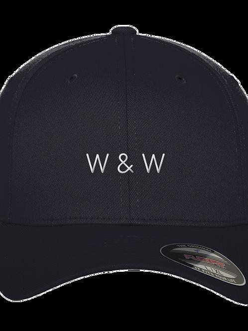 W & W Baseball Cap Dark Navy