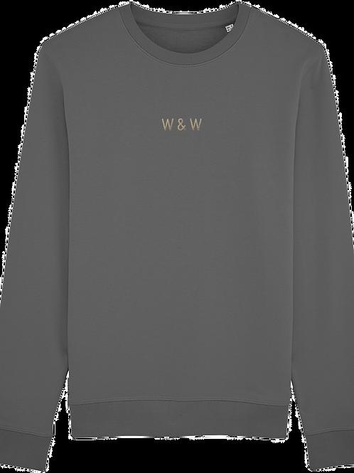 W & W Rise Sweatshirt Anthracite