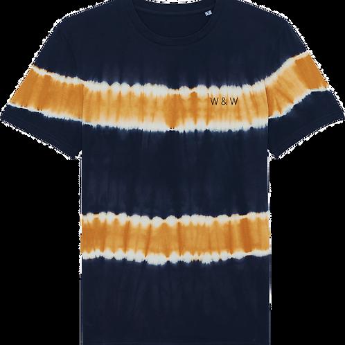 W & W Creator Tie Dye Tshirt India Ink Grey