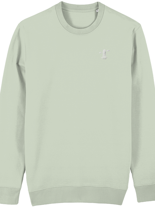 Needles Changer Sweatshirt Stem Green