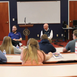 Lyon faculty and staff inspire high school students