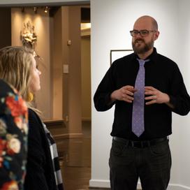Dustyn Bork talks abstract art and architecture