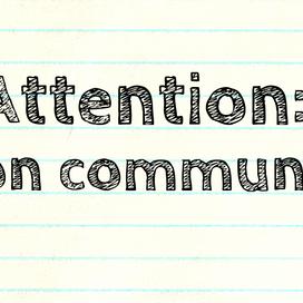 Attention: Lyon community