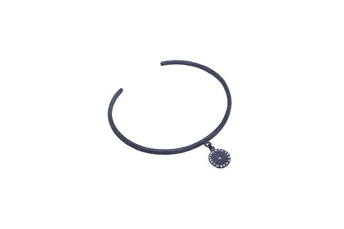 Bracelete Signs - Prata Oxidada