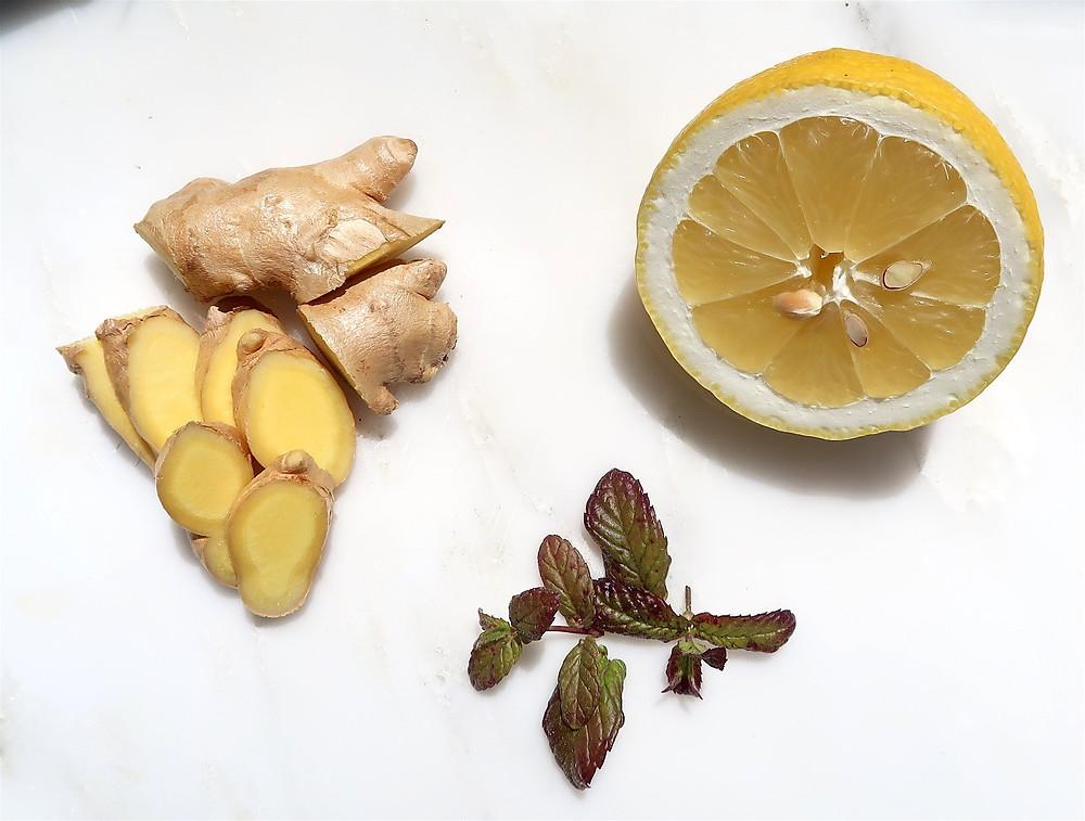 Lemon, Ginger & Mint