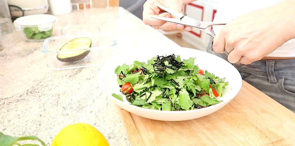 algae in your salad
