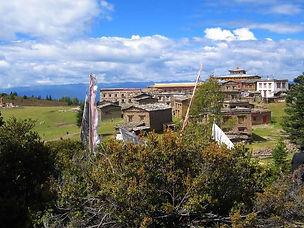 Region in Tibet where foot soak herbs are grown