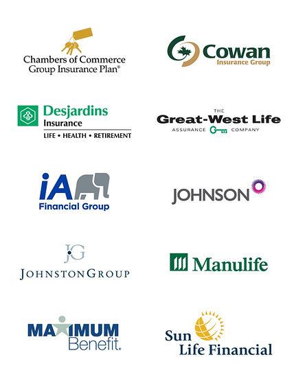 Extended Medical Insurance Company logos