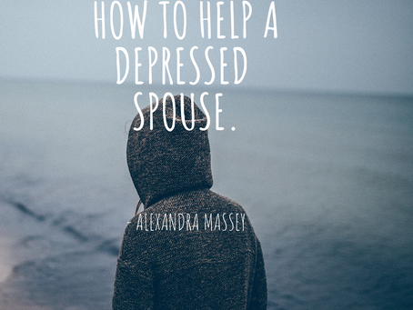How To Help A Depressed Spouse