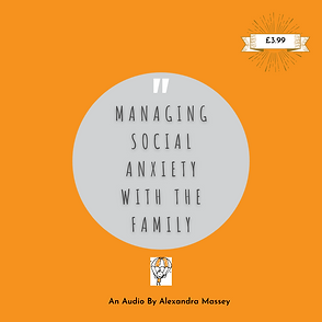 Managing Social Anxiety With The Family.