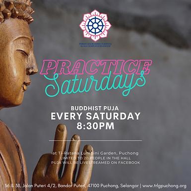 Practice Saturdays: Saturday Night Puja