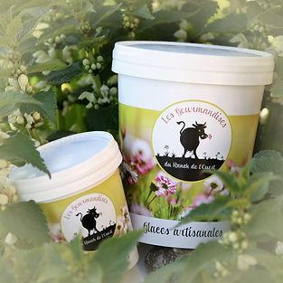 Emballage de glaces artisalanes