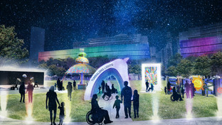 Tumbalong Lights playSPACE