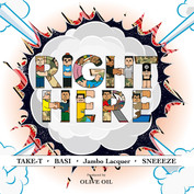 TAKE-T × Olive Oil / Right Here