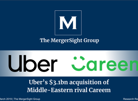 Uber's $3.1bn Acquisition of Middle Eastern rival, Careem Networks FZ