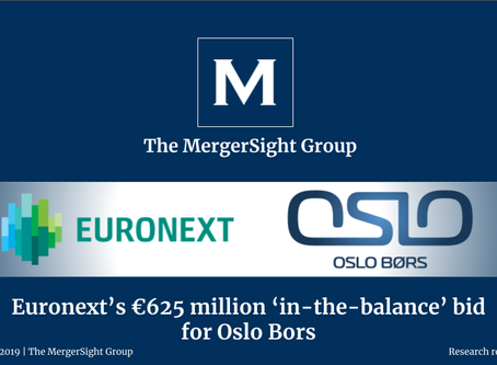 Euronext's €625 million 'in-the-balance' bid  for Oslo Bors