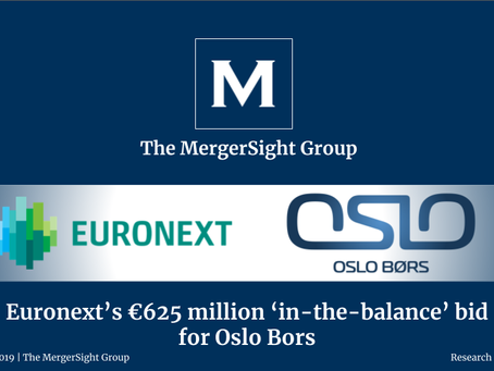 Euronext's €625 million 'in-the-balance' bid  for Oslo Bors