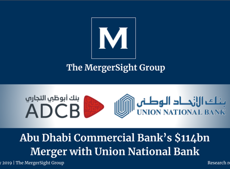 Abu Dhabi Commercial Bank's $114bn Merger with Union National Bank