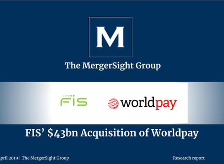 FIS' $43 billion Acquisition of Worldpay