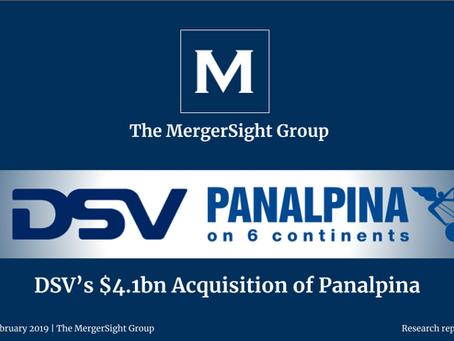 DSV's $4.1bn Acquisition of Panalpina