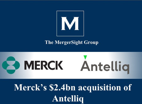 Merck's $2.4bn acquisition of Antelliq