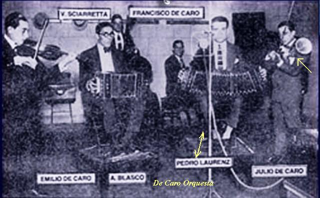 De Caro Julio- 1.orquesta tipica