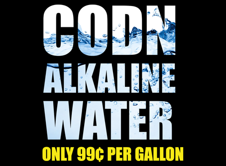 Denver, CO - CODN Alkaline Water