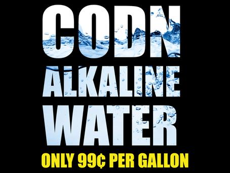 Denver, CO - CODN Alkaline Water