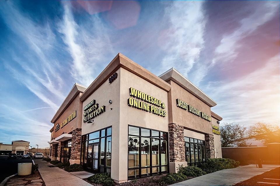 Vegas Discount Nutrition Superstores Official Website