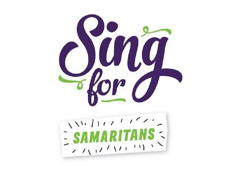 Sing Up staff sing for Samaritans