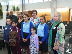 Ann Tolley and Opotiki group