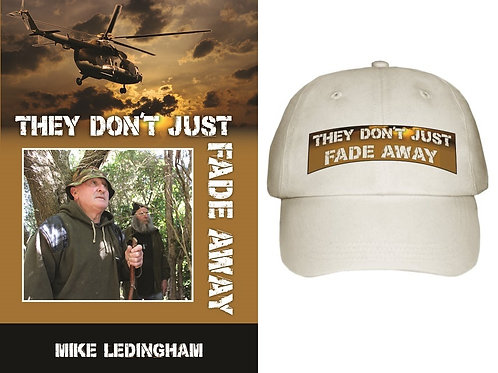 They Don't Just Fade Away book and cap combo