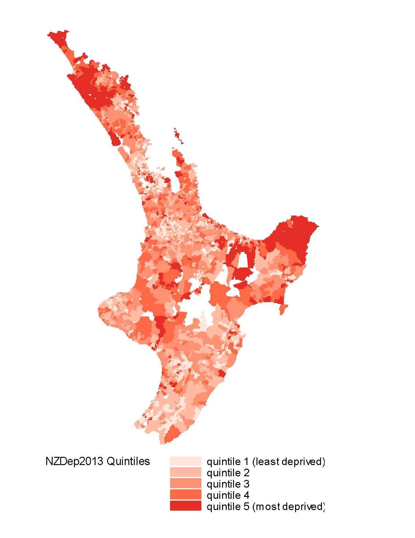 North Island Index Map