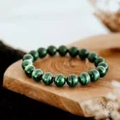 malachite 4mm Bracelet
