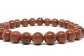 Gold Sandstone 4mm Bracelet