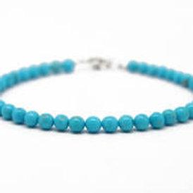 Turquoise 4 mm Bracelet
