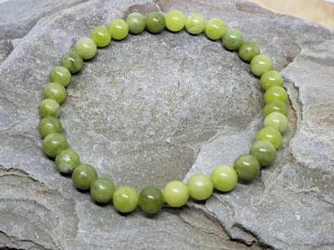 Chinese Jade 4mm Bracelet
