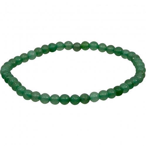 Green Adventurine 4mm Bracelet