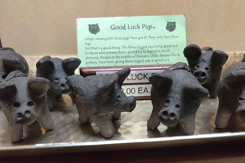 Good Luck 3 legged Pigs