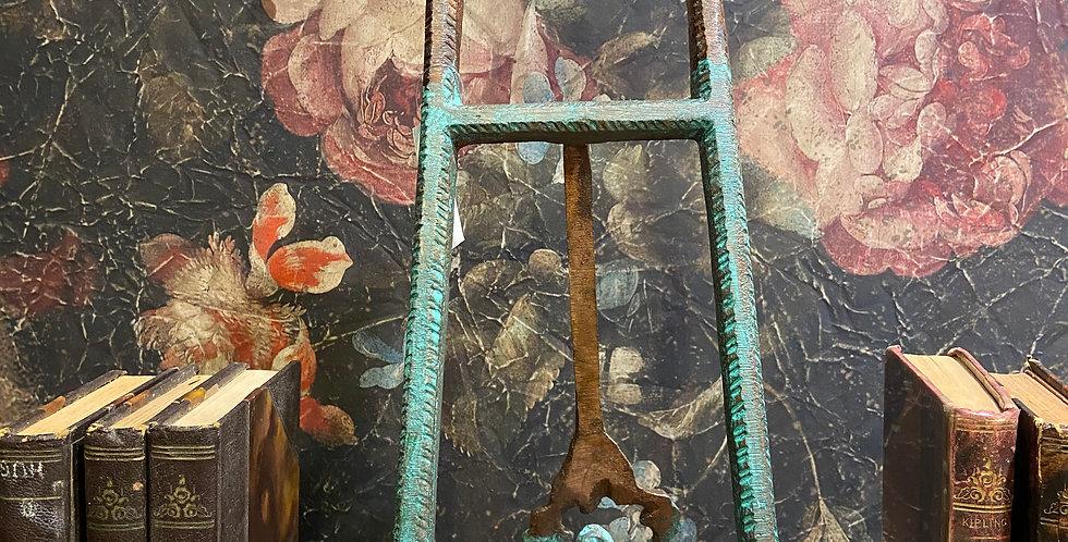 Porte livre Rouillé et vert d'eau Grand modèle