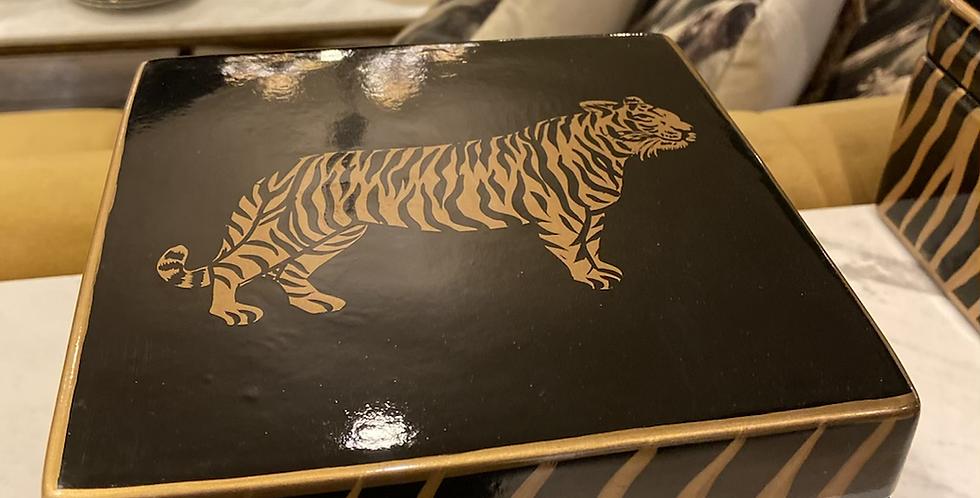 Boîte décorative Tigre petit modèle