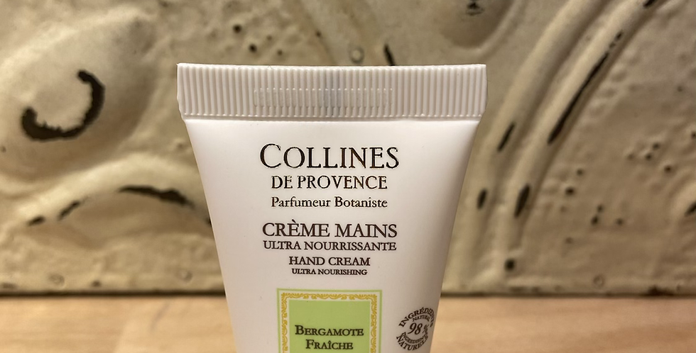 Crème mains Bergamote