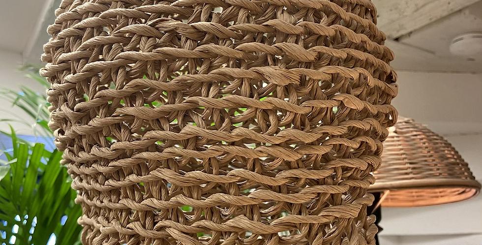 Lustre en corde