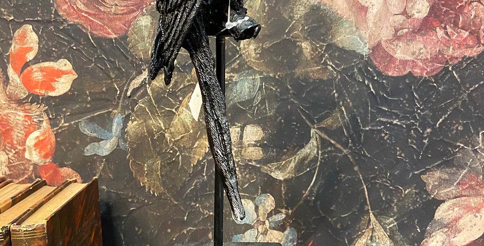 Perroquet Noir grand modèle