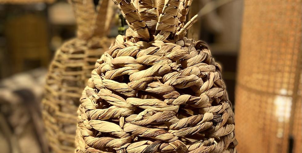 Ananas en Osier Grand modèle
