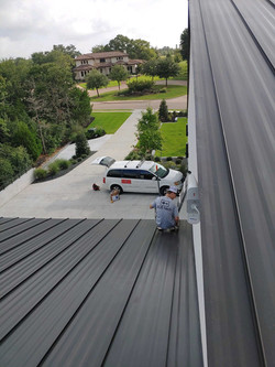 Cell phone repeater installation