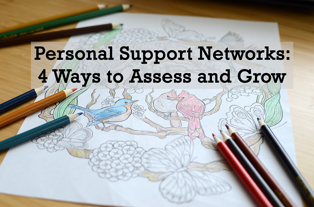 Personal Support Network Enabler Colored Page