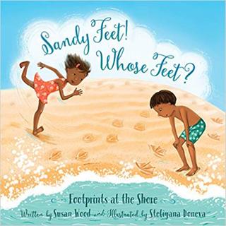 Sandy Feet! Whose Feet?