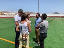 Obra Campo Fútbol Marítima